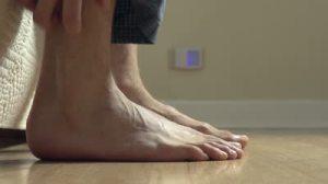 Wrong foot?